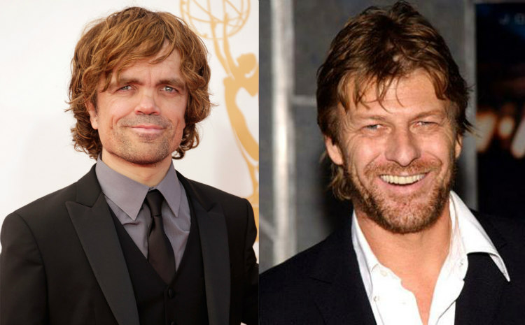 Peter Dinklage and Sean Bean