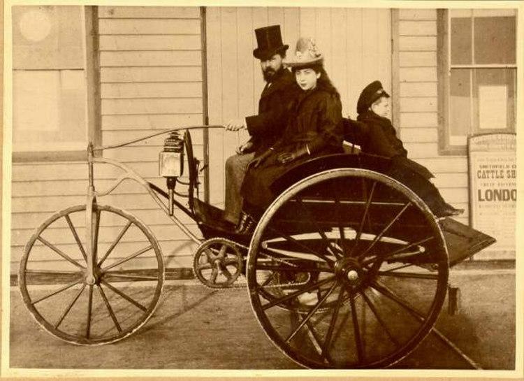 Motor Cars During Victorian Era