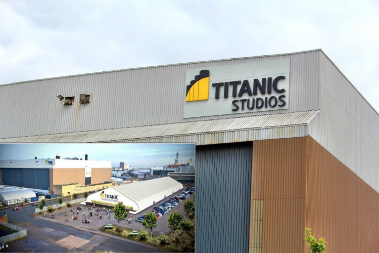 Game of Thrones Filmed in Titanic Quarter