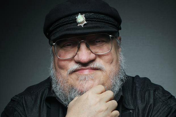 GRR Martin and His Turtle Sigil