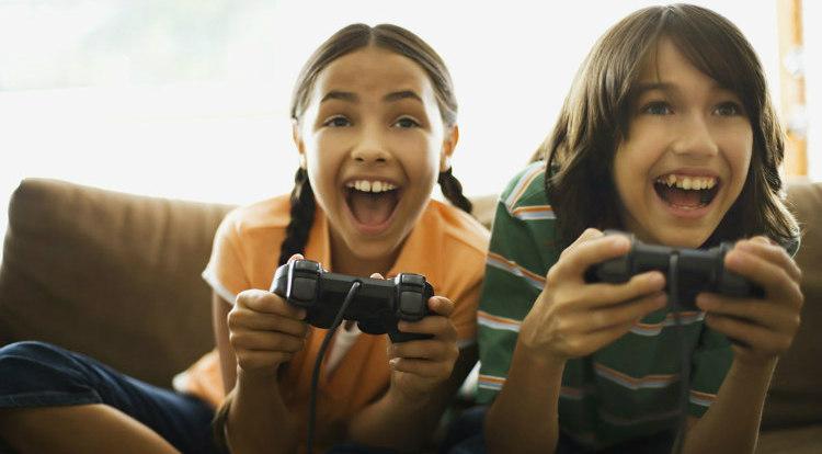 Gaming Decreases Hyperactive Behavior in Children