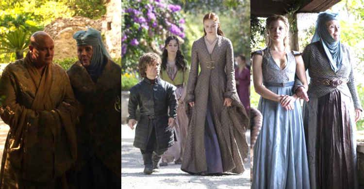 Garden Walks of Game of Thrones