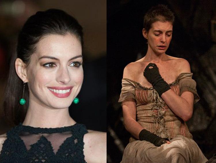 Anne Hathaway in Les Misérable