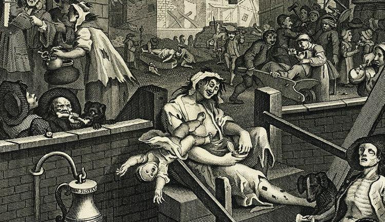 Gin Craze of 1700s