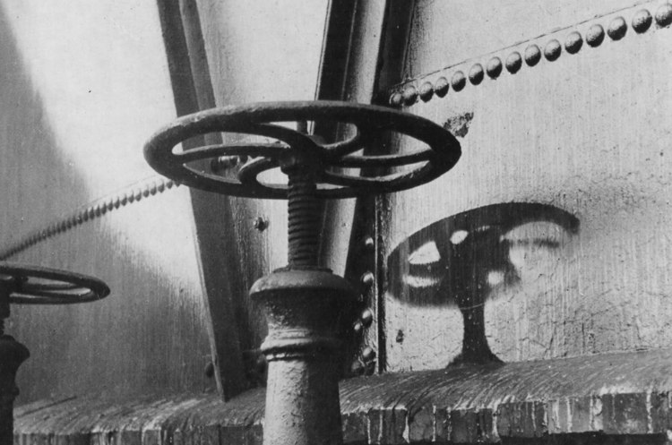 Radiation Shadows After Hiroshima Bombing