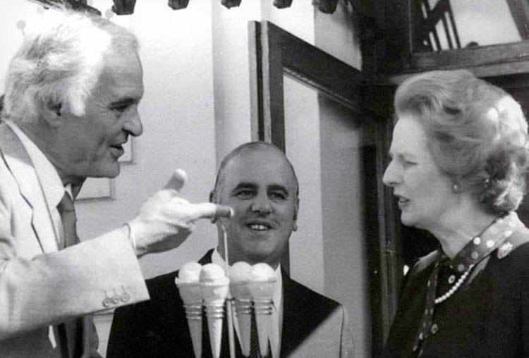 Margaret Thatcher was Food Chemist
