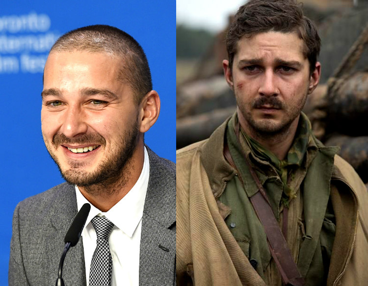 Shia LaBeouf in Fury