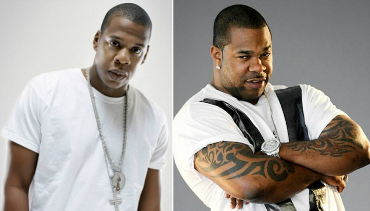 Jay-Z and Busta Rhymes