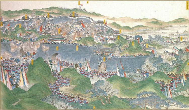 Taiping Rebellion or Civil War