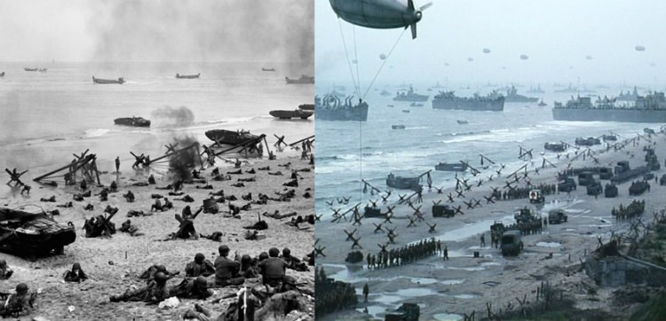 D-Day Landing and Rating