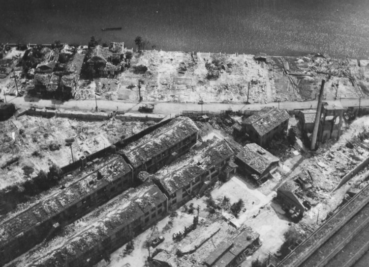 Destroyed Industrial Section in Hiroshima