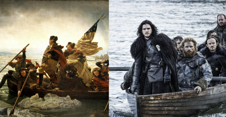 Jon Snow's Arrival at Hardhome