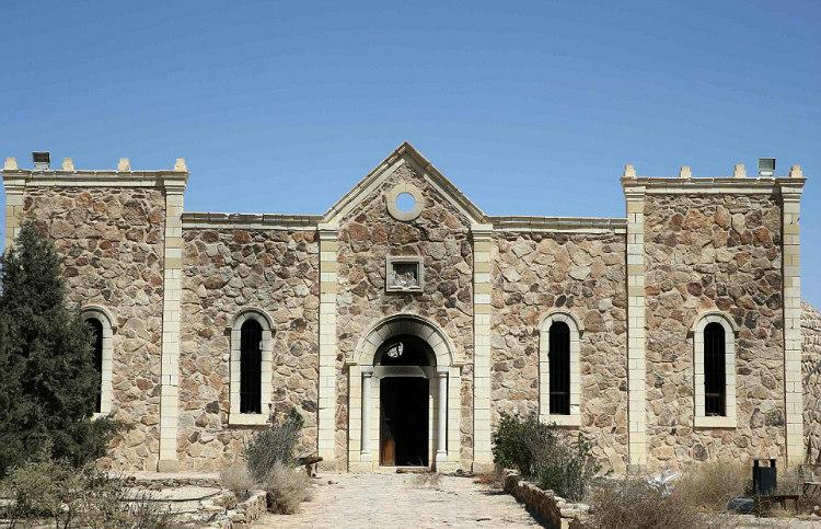 Monastery Before Syrian Civil War
