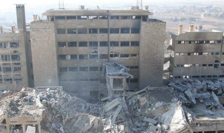 Al Kindi Hospital: Syria Before and After Civil War