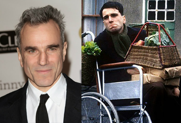 Daniel Day-Lewis in My Left Foot