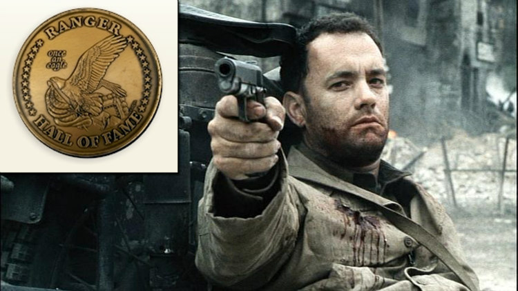 Tom Hanks - US Army Ranger Hall of Fame