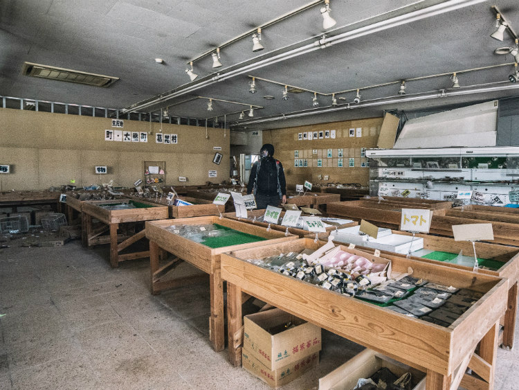 Florist Shop in Fukushima's Red Exclusion Zone