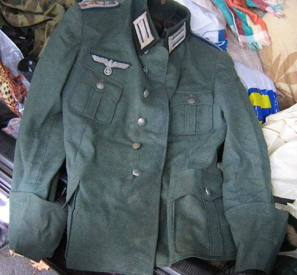 Contents of Unearthed Nazi Field Locker