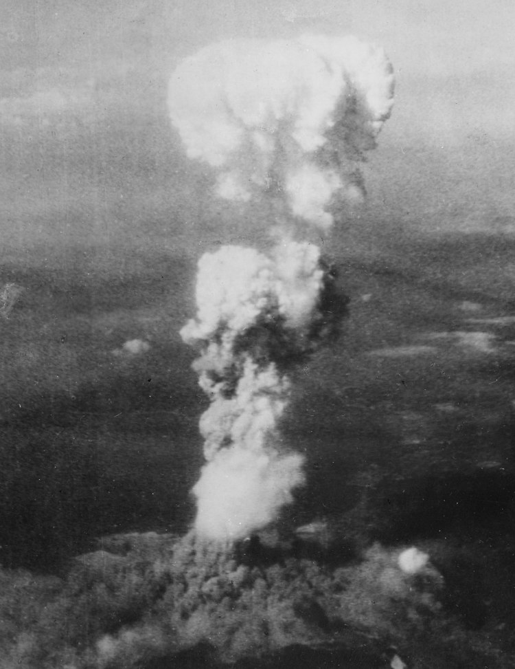 Mushroom Cloud of Hiroshima Atomic Bombing