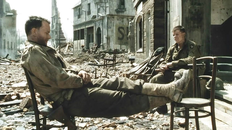 Saving Private Ryan - Matt Damon's Story