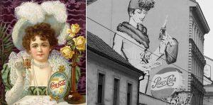 Coca-cola and pepsi vintage ads