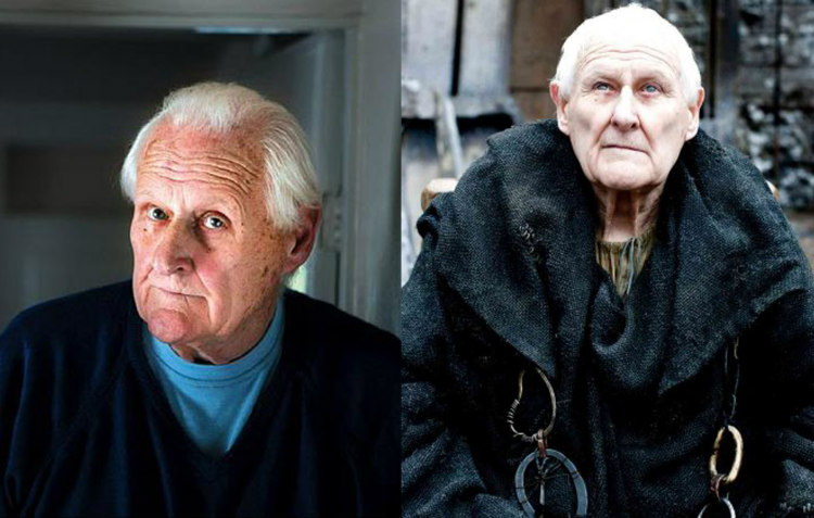 Peter Vaughan and Maester Aemon