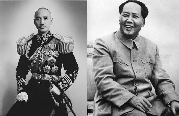 Chinese Civil War - Chiang Kai-shek and Mao Zedong