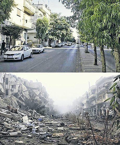 A street in Homs