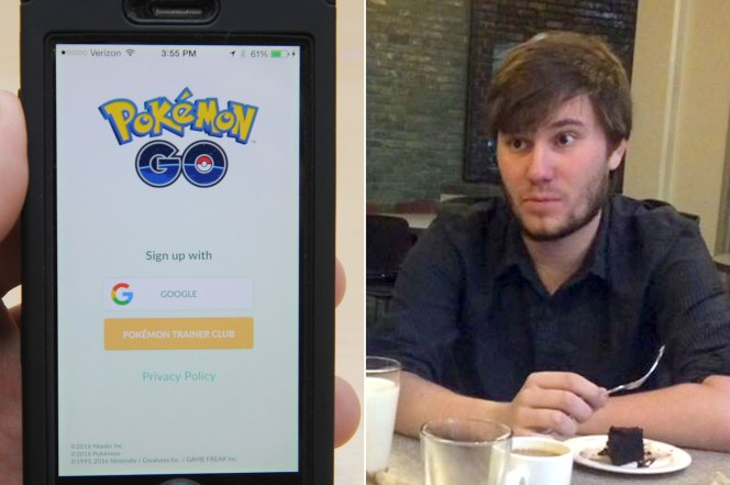 A man found his girlfriend cheating on him with Pokemon Go
