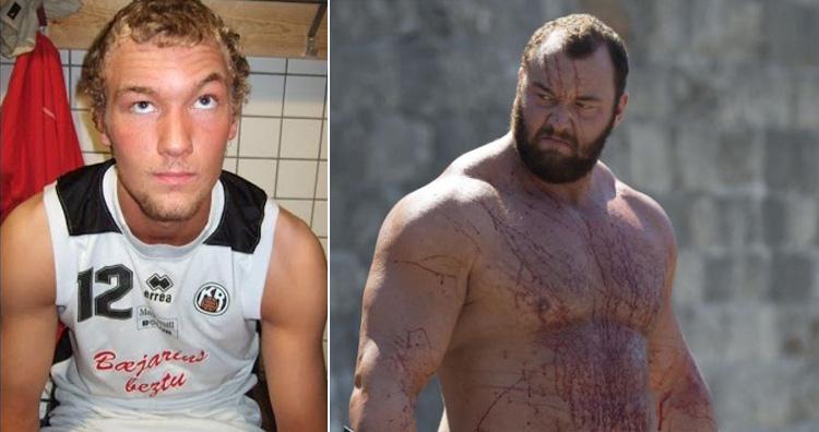 Hafþór Björnsson (the Mountain) Strongest Man Champion