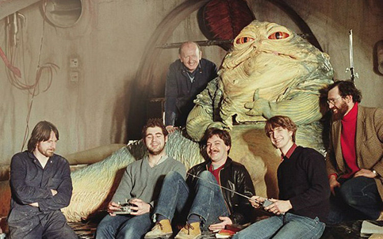 Puppeteers of Jabba the Hut