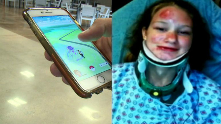 A teenager injured while playing Pokemon Go