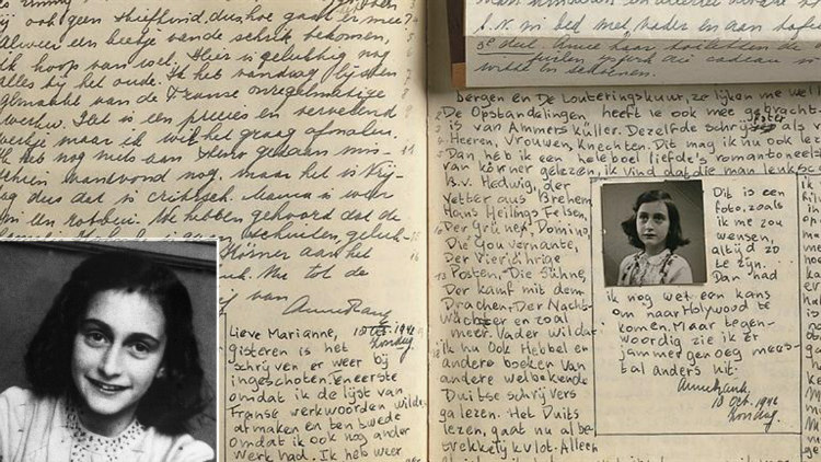 Unedited Anne Frank's Diary