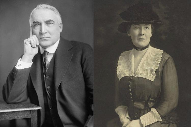 Warren Harding and Carrie Phillips