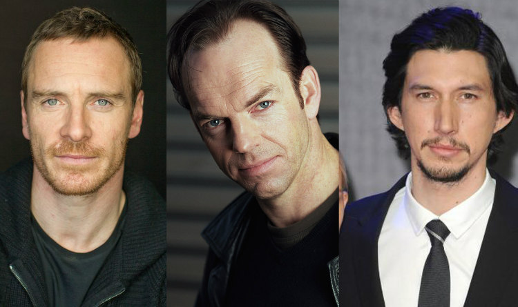 Michael Fassbender, Hugo Weaving and Adam Driver