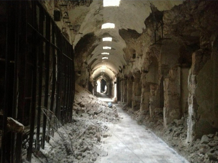 Al-Madina Souk After Syrian Civil War