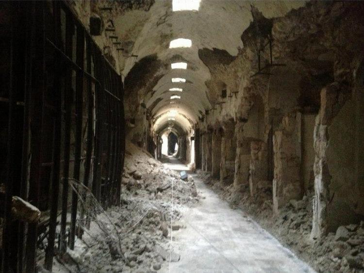 Al-Madina Souk After Syrian Civil War