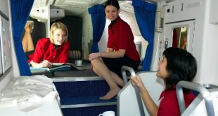 secret airplane compartments of flight attendants