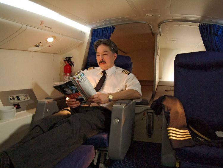 Pilots' Secret Compartments