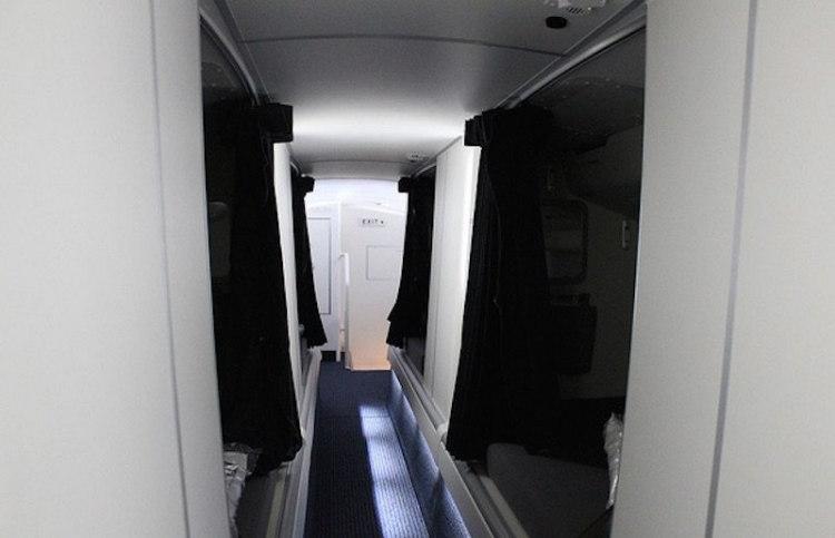 Flight Atendants' Secret Compartments