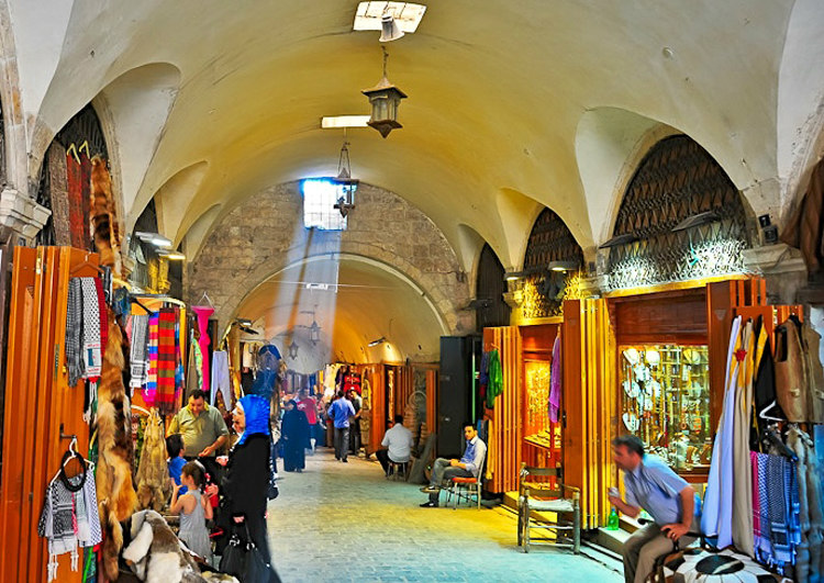 Al-Madina Souq Before Syrian Civil War
