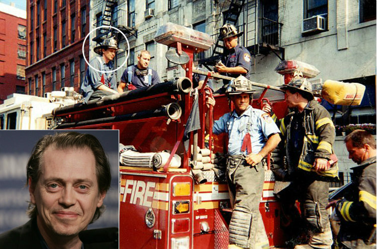 Steve Buscemi - Volunteer Firefighter After 9/11