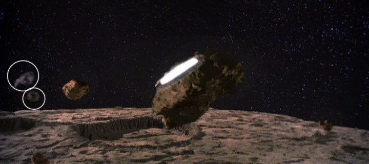 Shoe and Potato Asteroids in Star Wars