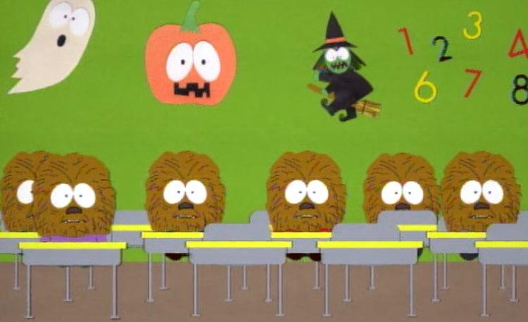 Halloween special episode, Chewbacca