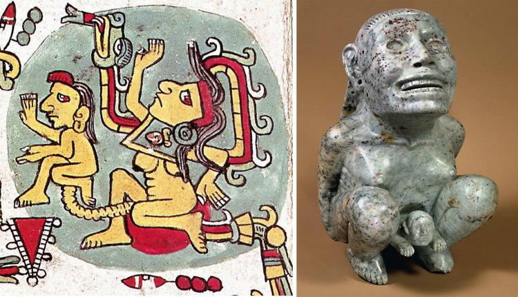 Ancient Aztec Childbirth