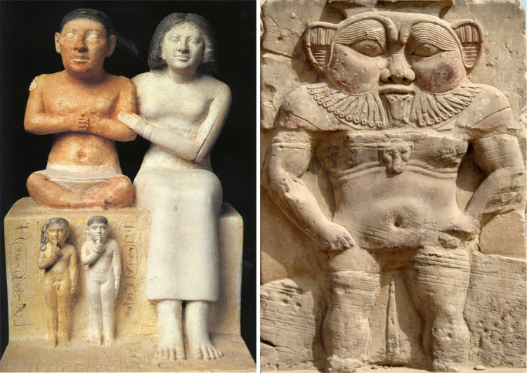 Ancient Egypt Dwarves