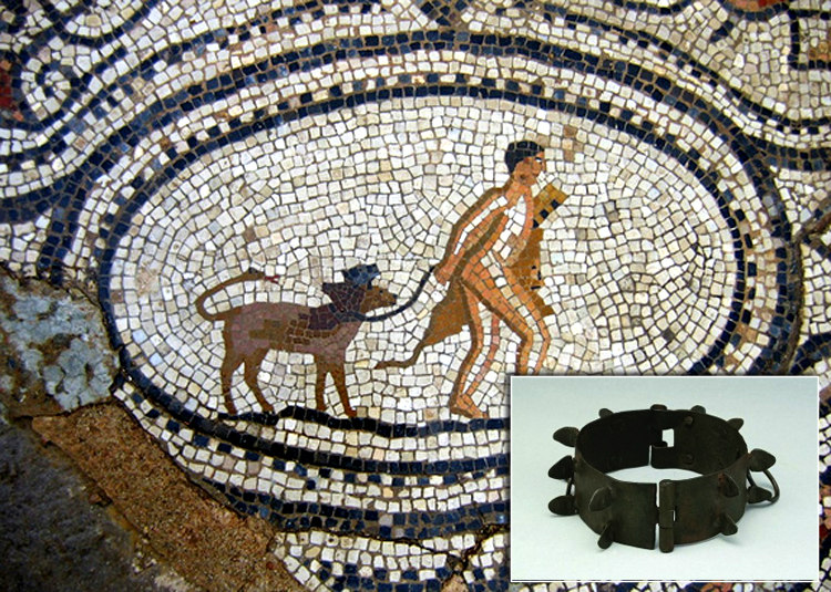 Ancient Greece Dog Collar