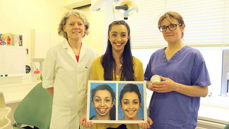 Ellie Jones with Consultant Orthodontists