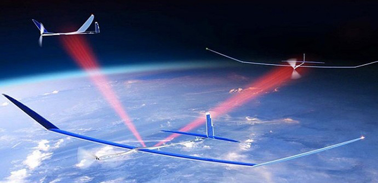 Solar Powered Drones Ultra-Fast 5G Network
