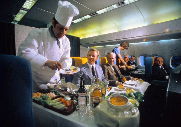 Scandinavian Airlines 70th Anniversary - Meals Between 1950s to 1980s